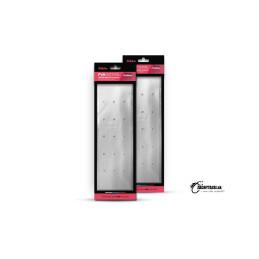 Titánové lanko BOMB! s karabínkou 2ks 45cm 20kg